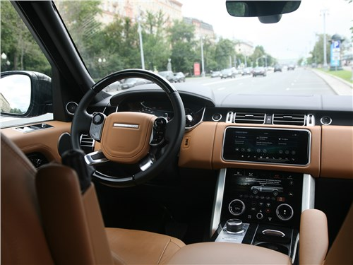Land Rover Range Rover Autobiography 2018 салон