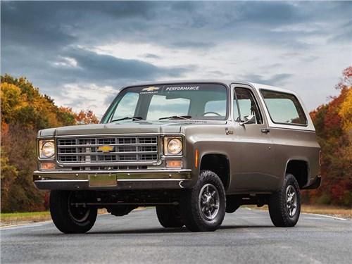 Классический внедорожник Chevrolet 1977 года превратили в электромобиль