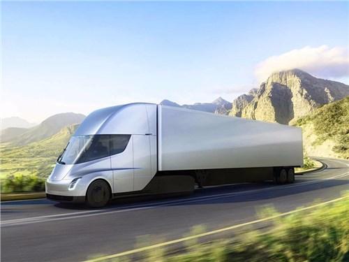Новость про Tesla Motors - Прототип Tesla Semi