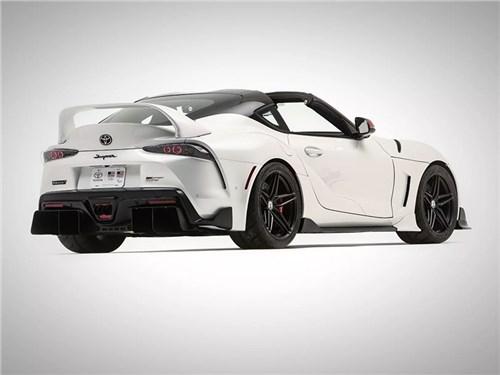 Новость про Toyota Supra - Toyota Supra получила кузов Targa
