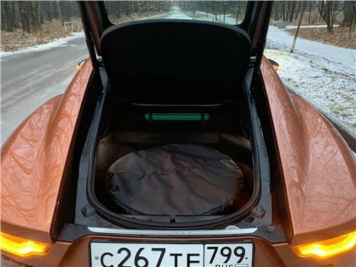 Jaguar F-Type 2021 багажное отделение