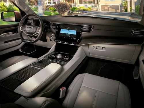 Предпросмотр jeep wagoneer (2022) салон