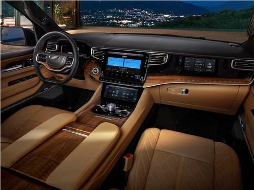 Предпросмотр jeep grand wagoneer (2022) салон