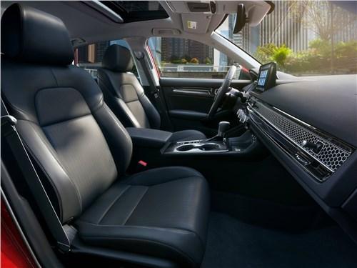 Предпросмотр honda civic sedan (2022) передние кресла
