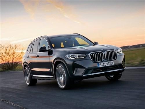 Новость про BMW - BMW X3 (2022)
