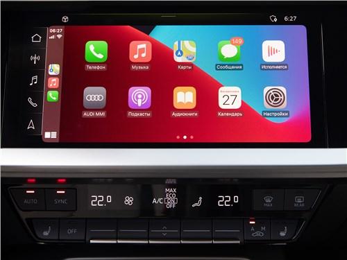 Audi A3 (2021) монитор