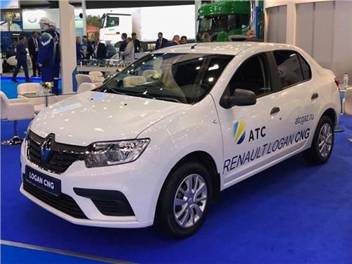 Новость про Renault Logan - Renault Logan CNG