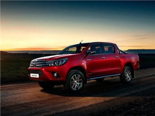 Новость про Toyota HiLux - Toyota отзывает 63 автомобиля в России