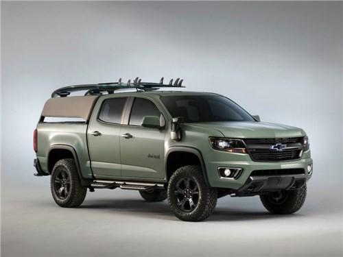 Новость про Chevrolet - Chevrolet привезет на SEMA «пляжную» версию Colorado Z71