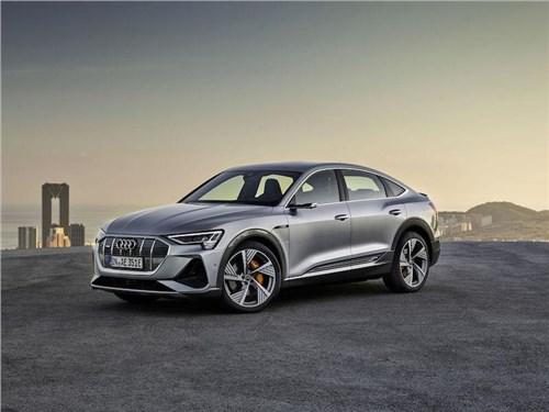 В Россию приехал Audi e-tron Sportback