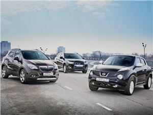 Opel Mokka, Mitsubishi ASX, Nissan Juke