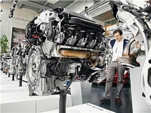 Двигатель от AMG