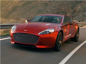 Новый Aston Martin Rapide - Aston Martin Rapide S 2013 вид спереди