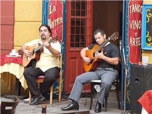 Аргентина очень музыкальная страна – здесь поют и танцуют на каждом углу