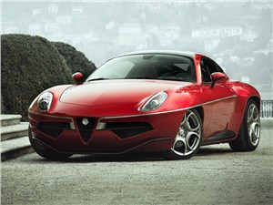 Предпросмотр carrozzeria touring superleggera disco volante 2013 вид спереди