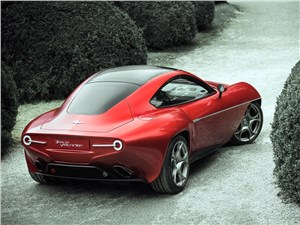 Предпросмотр carrozzeria touring superleggera disco volante 2013 вид сзади