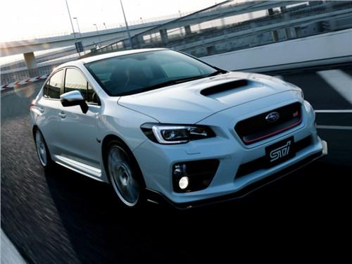 Subaru начала прием заказов на лимитированную модификацию седана WRX S4