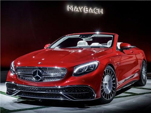 Новость про Mercedes-Benz - Mercedes-Benz показала первый кабриолет в линейке Maybach