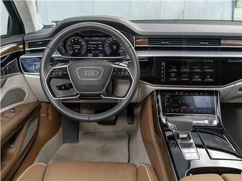Audi A8 L 55 TFSI quattro 2018 салон