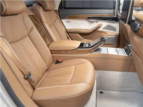 Audi A8 L 55 TFSI quattro 2018 места для пассажиров