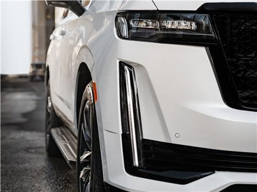 Cadillac Escalade (2021) передний свет