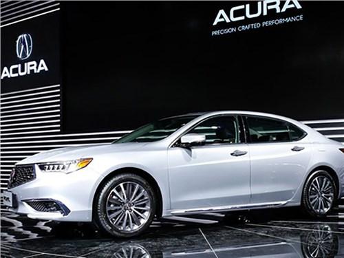 Acura показала растянутый седан TLX-L