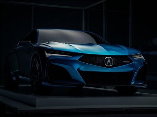 Новость про Acura - Acura представила «заряженный» седан Type S