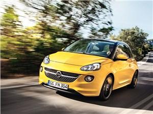 Opel Adam 2013 вид спереди