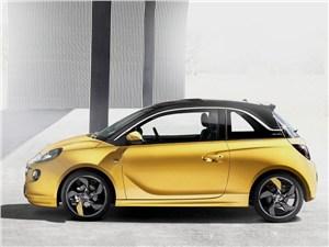 Opel Adam - Opel Adam 2013 вид сбоку