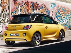 Opel Adam 2013 вид сзади