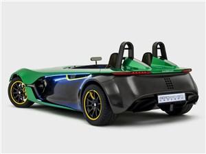 Предпросмотр caterham aeroseven concept 2013 вид сзади