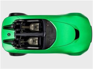 Предпросмотр caterham aeroseven concept 2013 вид сверху