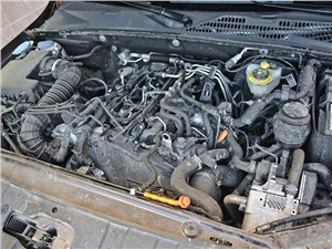 Volkswagen Amarok 2010 двигатель