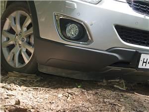 Opel Antara 2012 передний бампер