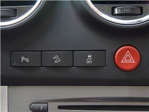 Opel Antara 2012 кнопки управления
