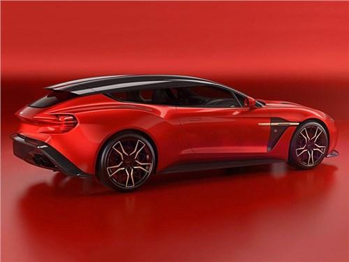 Zagato рассекретила универсал на базе Aston Martin Vanquish