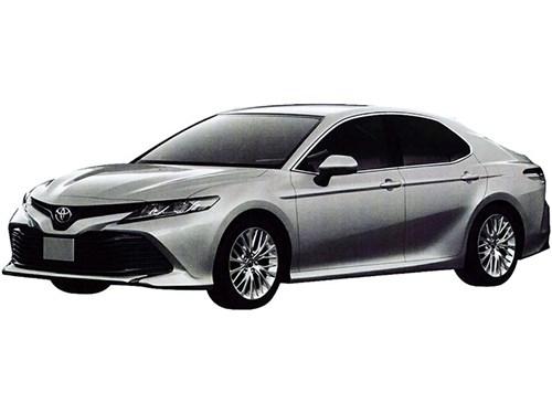 Рассекречен облик Toyota Camry для российского рынка