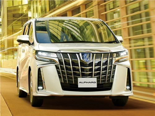 Toyota представила обновленный минивэн Alphard