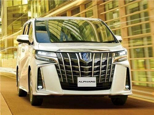 Новость про Toyota Alphard - Toyota Alphard