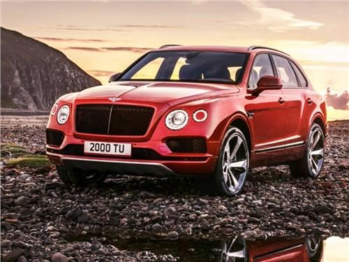 Bentley рассекретила турбированную Bentayga