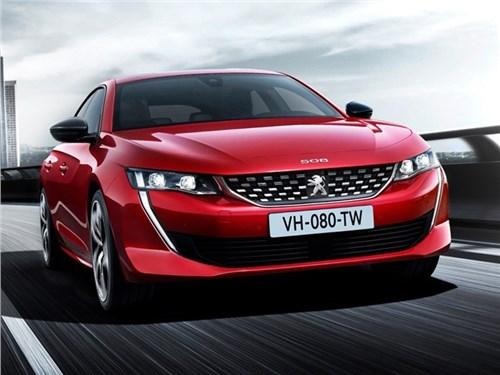 Peugeot сделает очень мощный 508-й