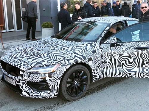 Президент Volvo показал новый S60