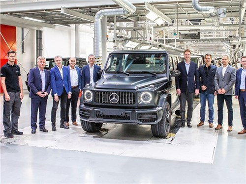 Началось производство нового Mercedes-Benz G-класса