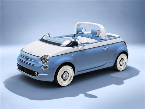 Новость про Fiat 500 - Fiat 500 Spiaggnia