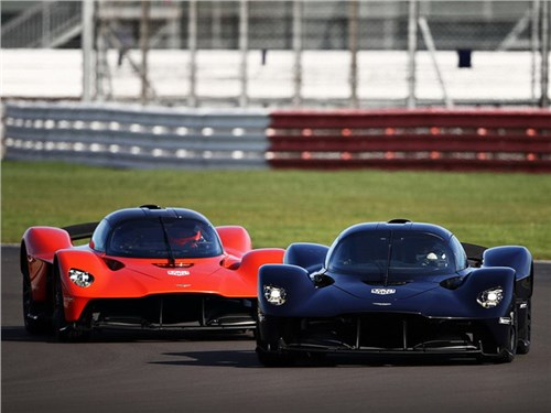 Aston Martin представил новый гиперкар