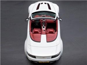 Aston Martin Vantage Roadster 2013 вид сверху