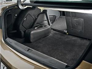 Opel Astra 2012 багажное отделение