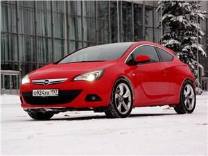 Opel Astra - opel astra gtc 2012 вид спереди