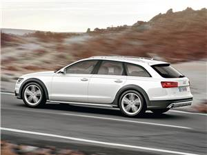 Audi A6 allroad 2012 вид сбоку