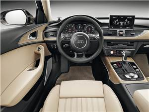 Audi A6 allroad 2012 водительское место